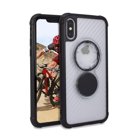 Rokform iPhone XS / X Crystal  -  Carbon Clear