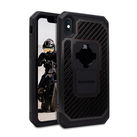 Rokform iPhone XS Max Fuzion Pro Case - Black