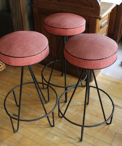 Set of Three (3) Frederic Weinberg Stools