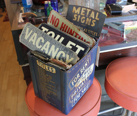 Storecounter Display w/ Original Signs