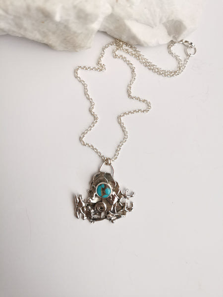Reclaim | kingman Turquoise Necklace
