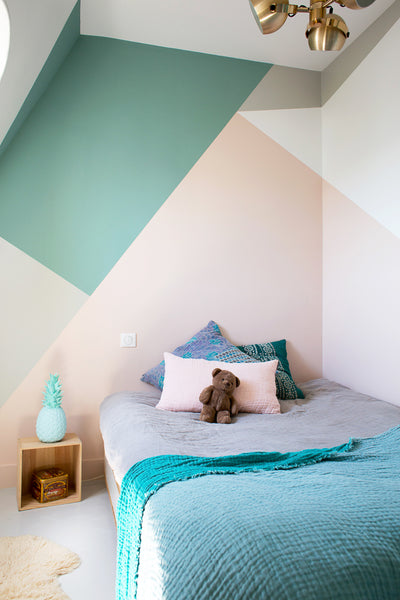 Color Block Kid Room by Inside Closer