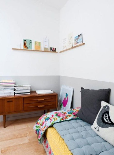 Color Block Wall Kids Room by Apartment Apothecary