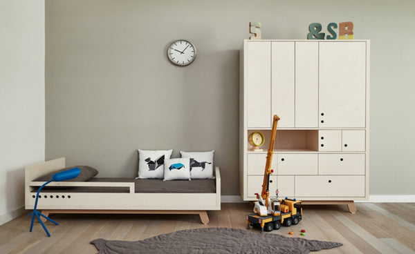 Kutikai Kids Furniture The Peekaboo Collection toddler bad and dresser