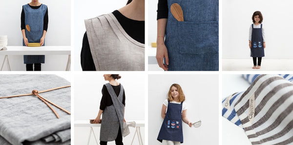 Objective Kitchen Textiles and Aprons with timeless designs