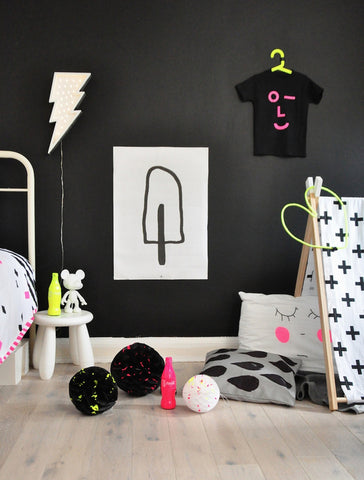 Black and Neon from Littlegatherer