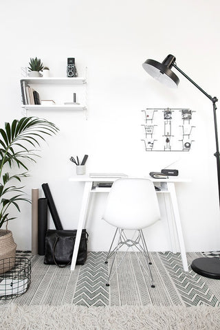 The Design Chaser Indie Home Collective Office Inspiration Mnimalist