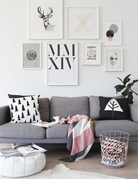 The Design Chaser Living Room prints inspiration