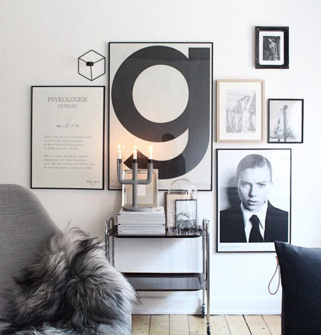 The Poster Club Living Room Inspiration