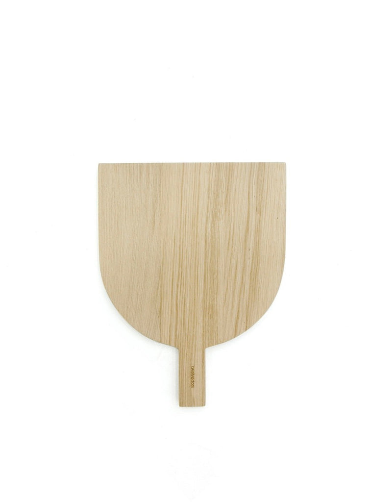 Bell cutting board oak wood