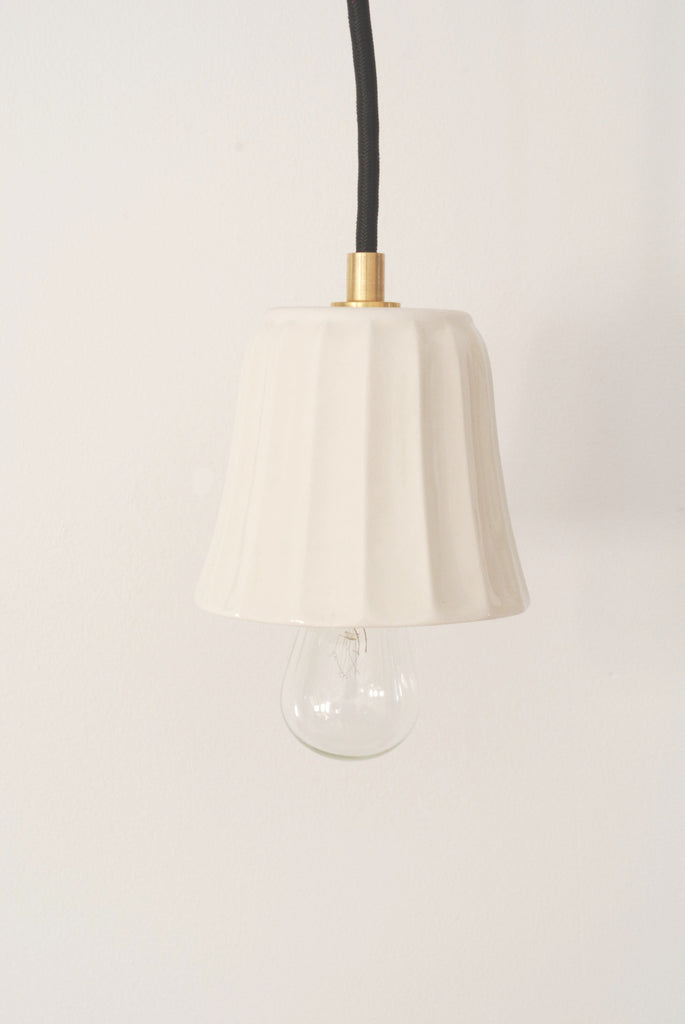 Ceramic Pendant Lamp - Bell