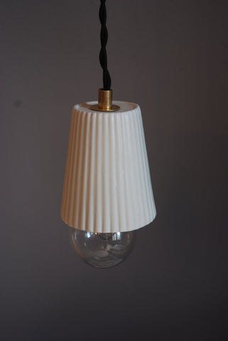 Ceramic Pendant Lamp - Lace