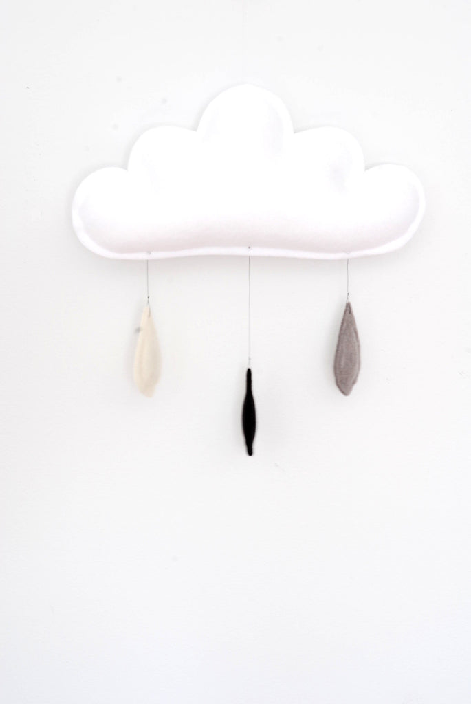 Classic Cloud Mobile CREAMY Handmade by The Butter Flying
