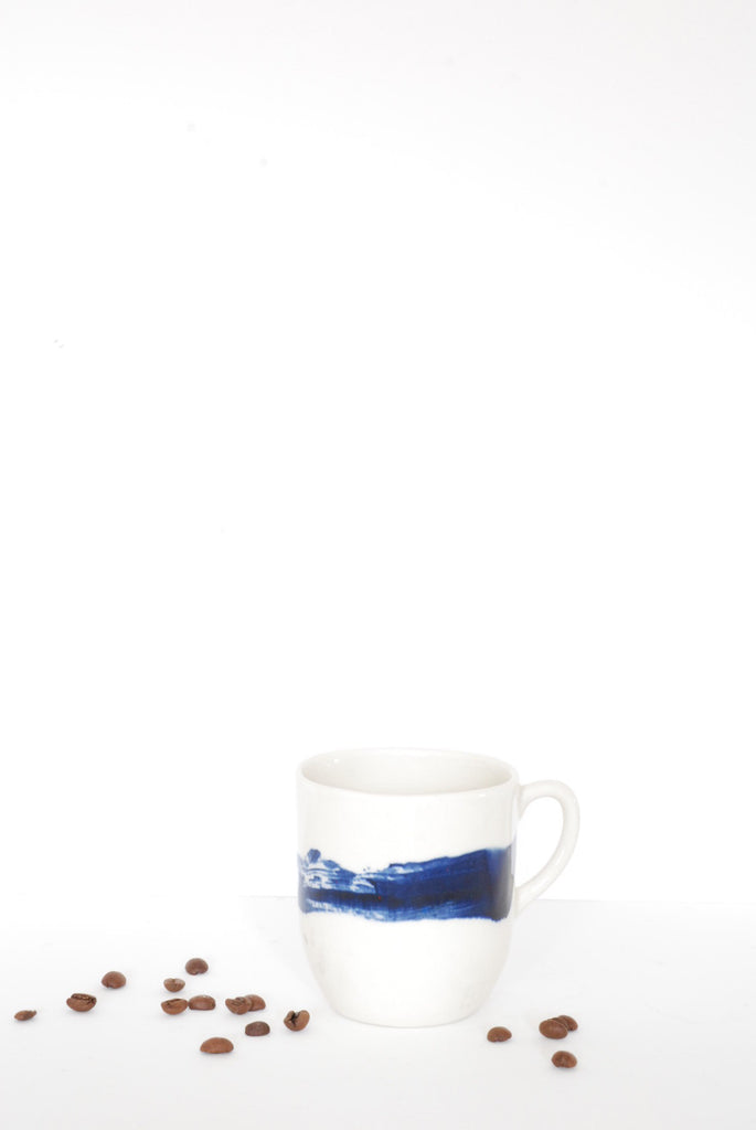 Coffee Cup with Handle - Brushstroke by Art & Manufacture