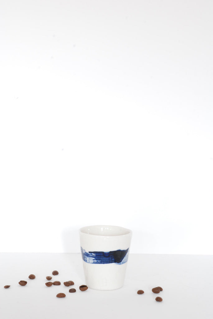 Espresso Cup Brushstroke by Art & Manufacture