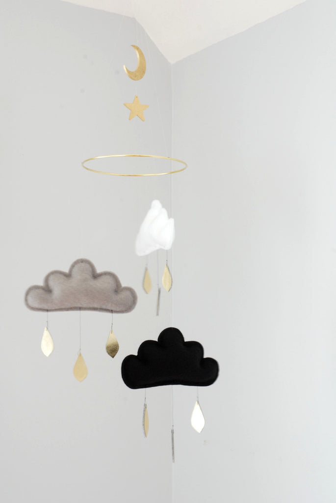 Paris Handmade Cloud Mobile by The Butter Flying