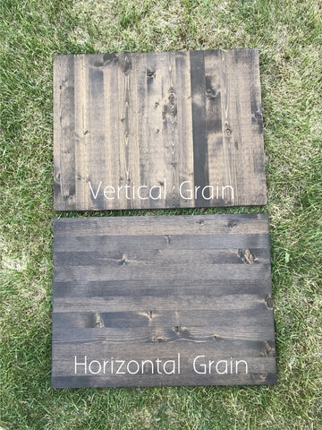 Grain Direction Comparison