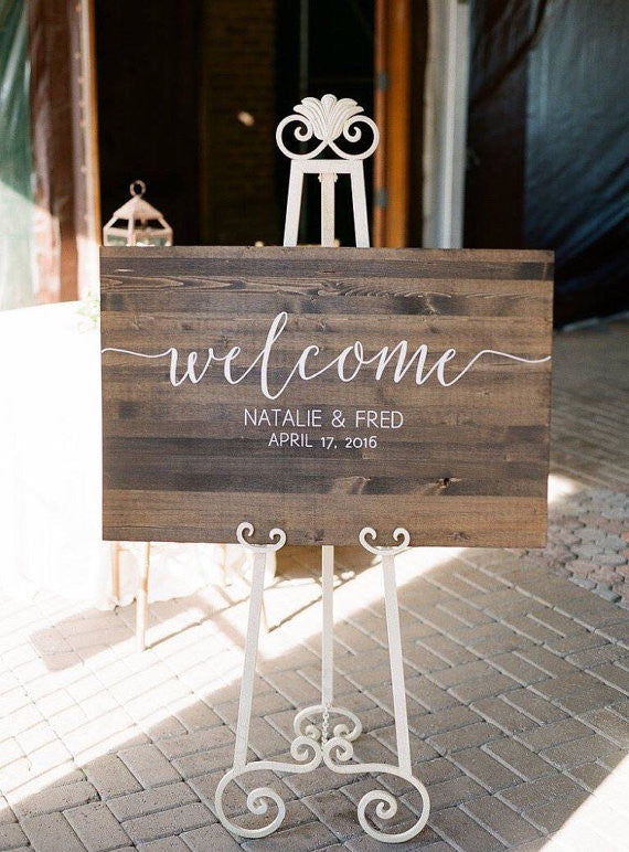 Wedding Welcome Sign - Sophia Collection