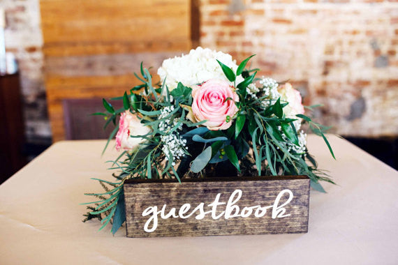 Guestbook Sign - Alexandra Collection
