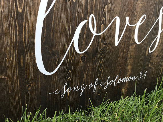 I Have Found The One Wedding Sign - Sophia Collection