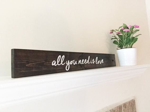 All You Need Is Love Wedding Sign - Alexandra Collection