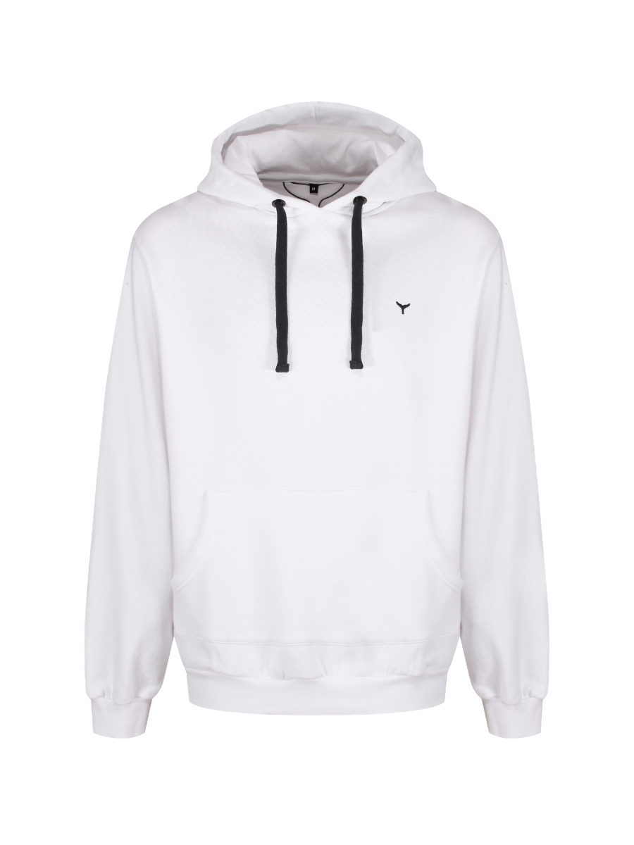 Whitesands Hoodie - White - Whale Of A Time Clothing