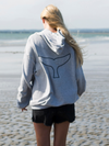 Minke Sweatshirt Grey/White/Navy