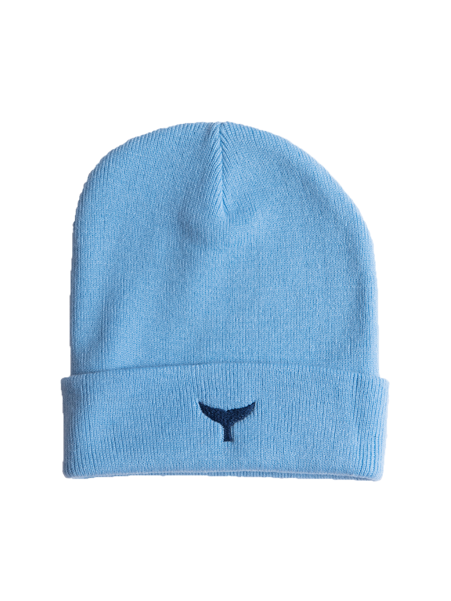 Beanie - Blue - Whale Of A Time Clothing