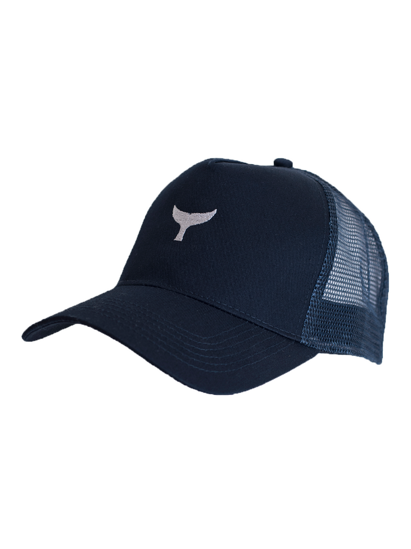 Trucker Cap Navy - Whale Of A Time Clothing