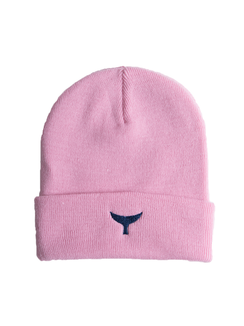 Beanie - Pink - Whale Of A Time Clothing