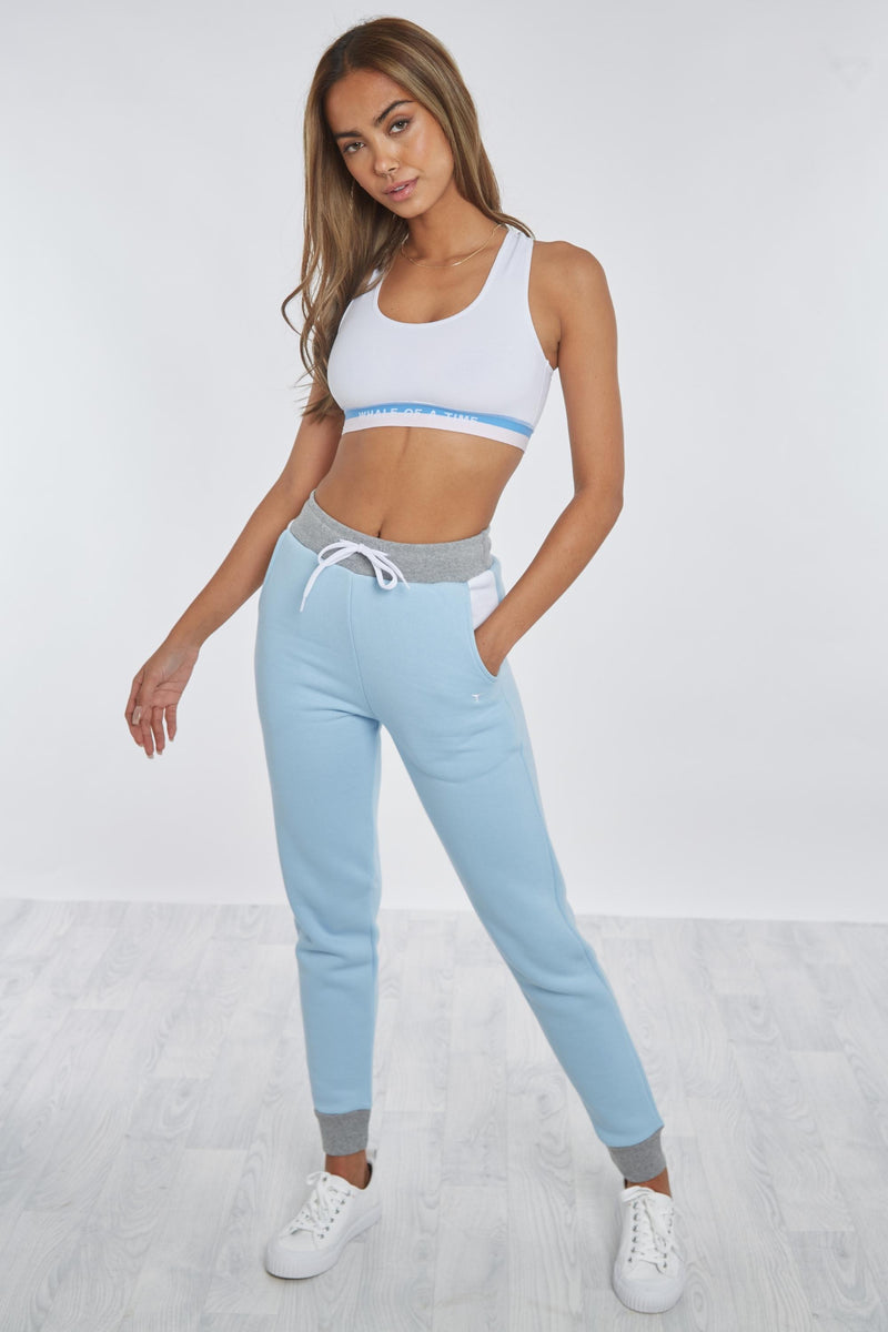 Sowerby Sweatshirt Grey/Navy/White - Whale Of A Time Clothing