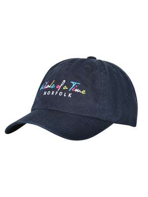 Basics Cap - Navy - Whale Of A Time Clothing