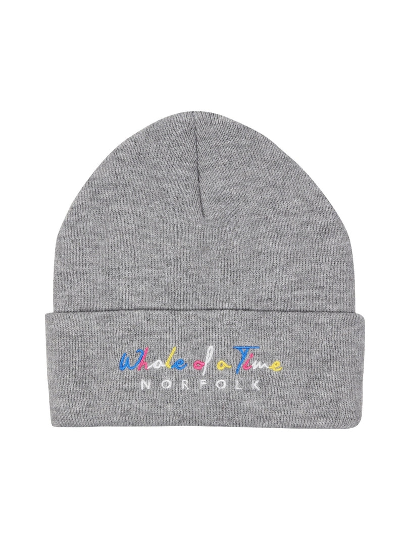 Basics Beanie - Grey - Whale Of A Time Clothing