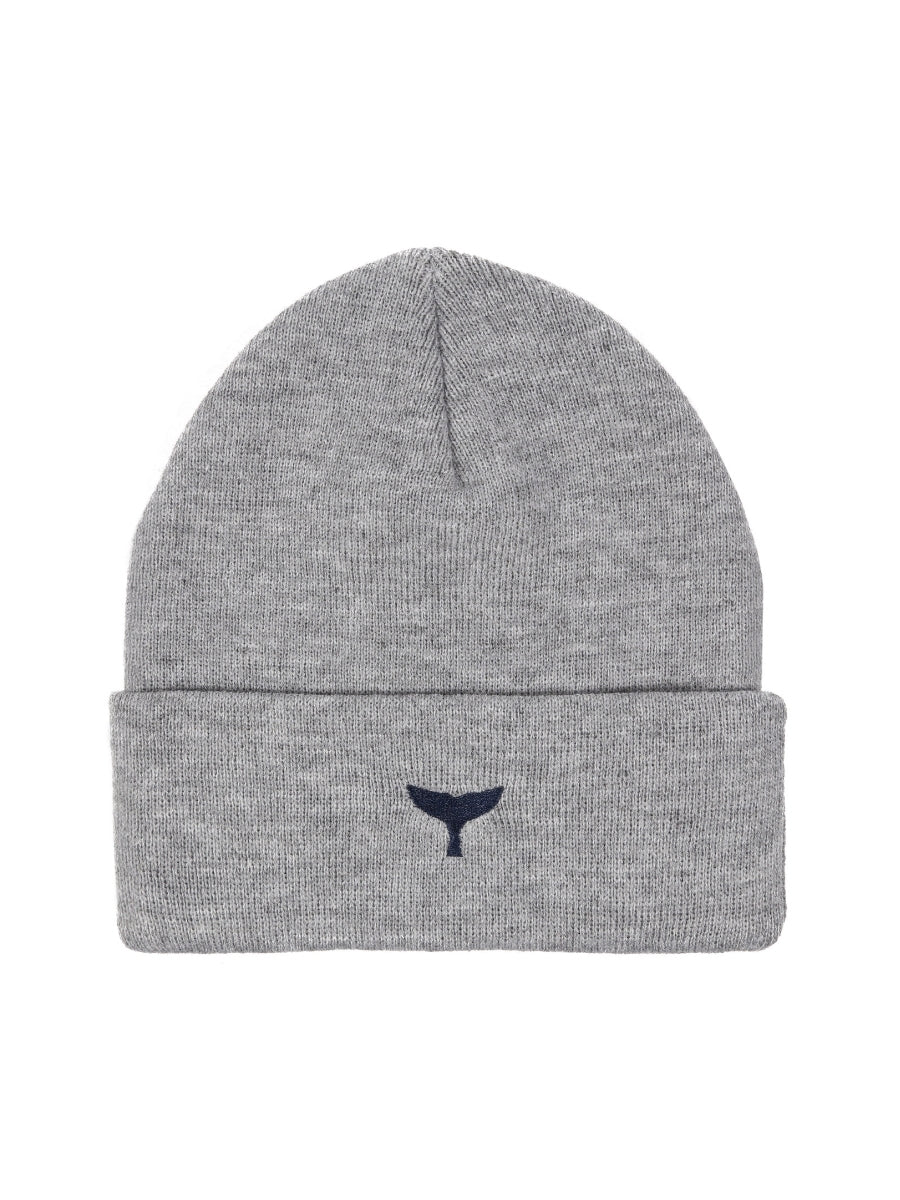 Beanie - Grey - Whale Of A Time Clothing