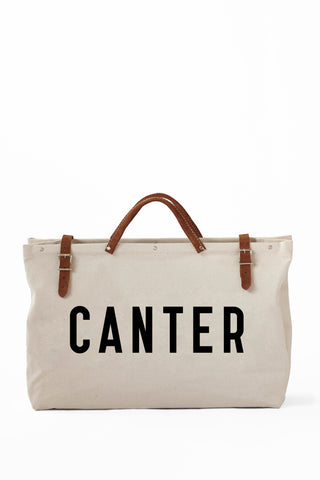 CANTER TOTE-CANVAS