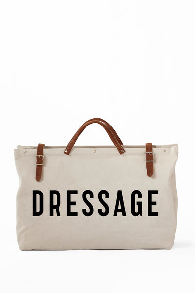 DRESSAGE TOTE-CANVAS