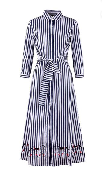CORDELIA SHIRT DRESS