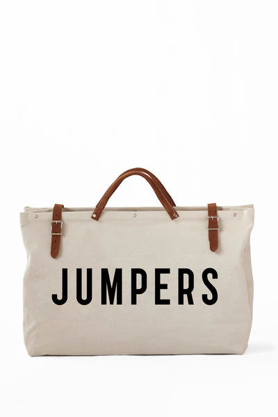 JUMPERS TOTE CANVAS