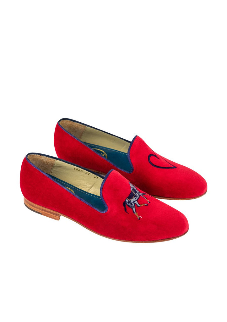 MIMOSAS SLIPPERS LOVE | RED &NAVY