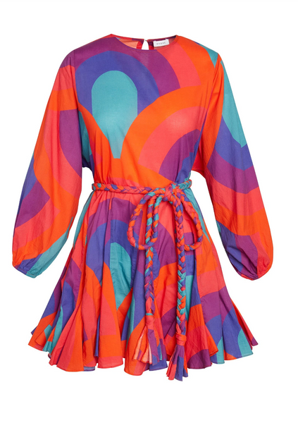ELLA RETRO RAINBOW DRESS