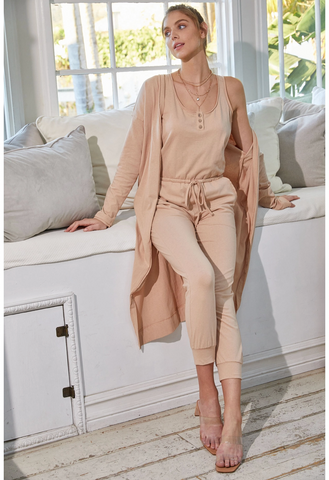JUMPSUIT / CARDIGAN SET