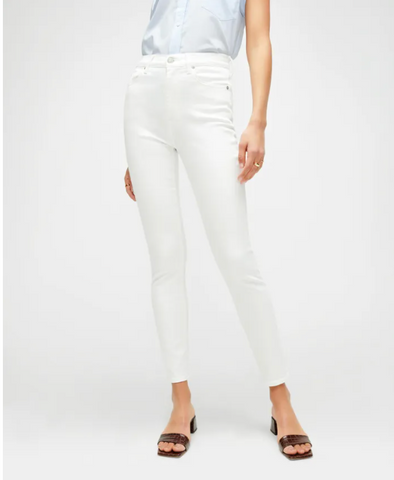 SLIM ILLUSION HIGH WAIST ANKLE  JEAN