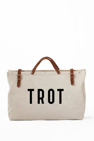 TROT TOTE-CANVAS