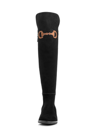 CAVALIA OVER THE KNEE BOOTS | SUEDE