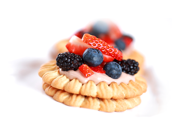 Fruit Cream Cookies
