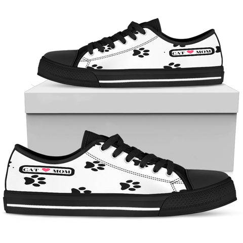 *Attention Cat Moms* Turn your Low Top Canvas Shoes into a Unique Piece of Pawsome Cat Art!, Low Top Canvas Shoes, FamilyTrophy.com, FamilyTrophy.com - FamilyTrophy.com