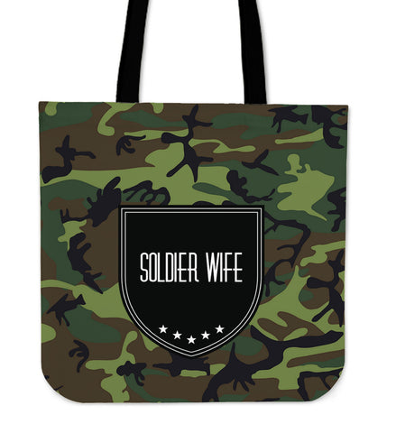 Tote Bag Soldier Wife 6, , FamilyTrophy.com, FamilyTrophy.com - FamilyTrophy.com