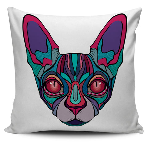 Cat Pillow Cover, , FamilyTrophy.com, FamilyTrophy.com - FamilyTrophy.com