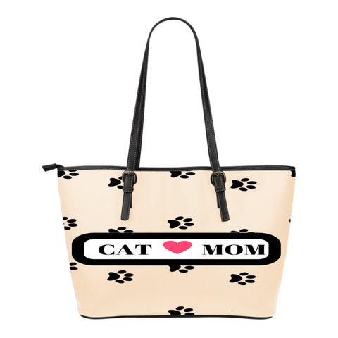 *Attention Cat Moms* Turn your Leather Tote Bag into a Unique Piece of Purrrfect Paw Art!, Leather Tote Bag, FamilyTrophy.com, FamilyTrophy.com - FamilyTrophy.com