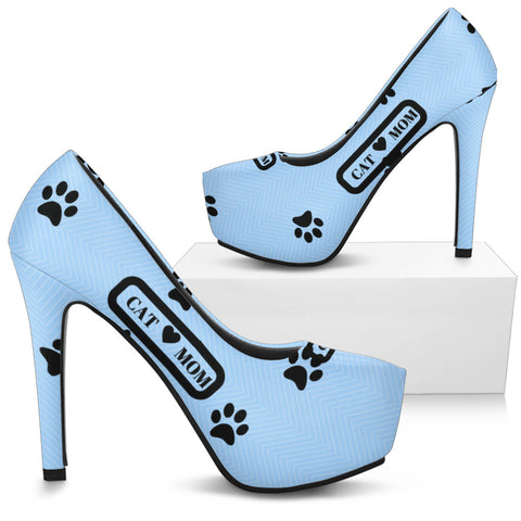*Attention Cat Moms* Turn Your High Heels into a Piece of Purrrfect Cat Mom Art!, High Heels, FamilyTrophy.com, FamilyTrophy.com - FamilyTrophy.com